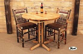industrial style pub table signature design by round pub table add industrial style and with