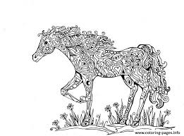 adults difficult animals horse printable hd coloring pages printable