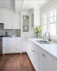 White Kitchen Cabinets White Appliances Top Implementation Of Kitchen Wall Colors With White Appliances