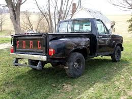ford truck bumper original rear bumper for 1980s stepside ford truck enthusiasts