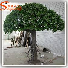cheap large outdoor artificial trees landscaping ficus trees