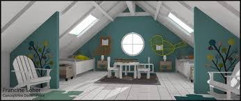 chambre enfant comble chambre enfant sous les combles par francine soher homify
