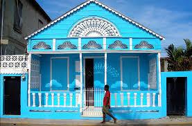 blue caribbean house blue houses pinterest caribbean