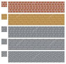 bloc de pierre pour mur pour platformers pixel art vecteur brique pierre et bois mur