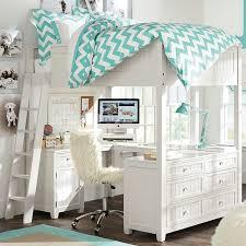 full loft bed with desk for teens modern home design