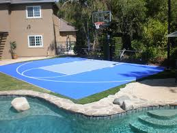 backyard basketball court dimensions design and ideas cooper house sport court of southern california introducing sportscape by your dream backyard will now look fit and home decor