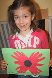 remembrance day craft for preschoolers and kids easy to make at