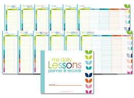 printable homeschool daily planner homeschool lesson planner colorful confessions of a homeschooler