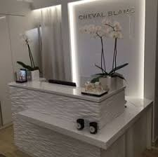 Spa Reception Desk Zen Reception Desk Spa Pinterest Reception Desks Reception