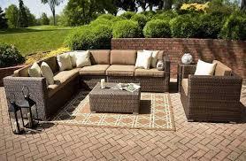 patio u0026 pergola wicker patio furniture sets clearance pretty pvc