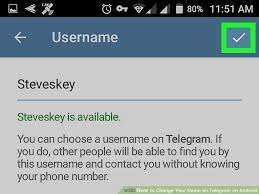 telegram for android how to change your name on telegram on android 6 steps