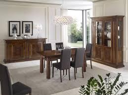 sala pranzo moderna gallery of sala da pranzo completa di tavolo vetrinetta e credenza