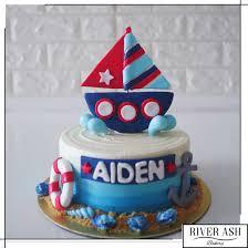 nautical cake nautical cake birthday cakes singapore river ash bakery