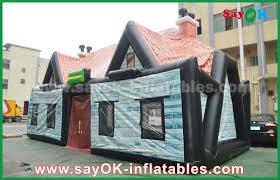 0 55mm pvc air tent house tent log
