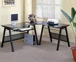 L Shaped Desks For Home Contemporary L Shaped Home Office Set Office Sets