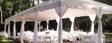 wedding tablecloth rentals wedding party tent rentals wedding rental package party