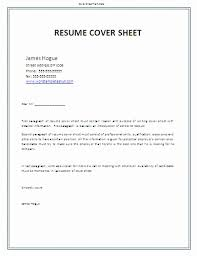 resume cover page exle unique free cover letter exles for