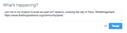 unleash your community get started with the things network