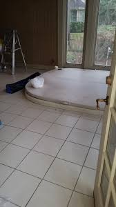 Remove Floor Tiles From Concrete Tub Tile Removal Concrete Repair And Stone Installation