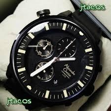 Jam Tangan Alexandre Christie Cowok ac 6418mcbc black jam tangan alexandre christie original