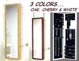 wall mirror jewelry cabinet jewelry wall mounted jewelry wall mount jewelry armoire wall mount