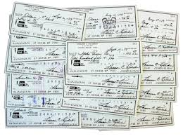 lot detail lot of 25 harmon killebrew personal checks signed