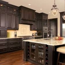 how to stain kitchen cabinets black kitchen stained kitchen cabinets house exteriors