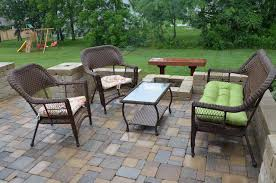 Diy Patio With Pavers Diy Backyard Paver Patio Outdoor Oasis Tutorial The Rodimels