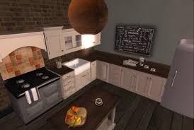 Cottage Kitchen Cupboards - hiddencrawlspace u003e u003e second life furniture u0026 decor blog u003e u003e for