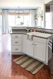 how to paint kitchen cabinets without streaks how to paint kitchen cabinets without fancy equipment