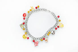 diy punk necklace images Emoji luv necklace diy quiet lion creations png