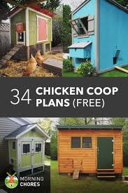 free home building plans 61 diy chicken coop plans that are easy to build 100 free