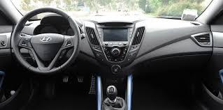 Veloster Hyundai Interior 2013 Hyundai Veloster Turbo Autoblog