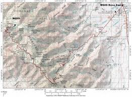 Phoenix Road Map by Directions To Mgio Base Camp Mount Graham International Observatory