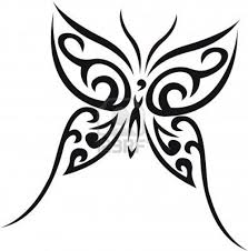 the 25 best tribal butterfly tattoo ideas on pinterest tribal