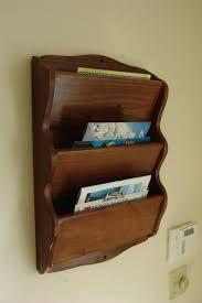 furniture bathroom magazine rack target wood wall mounted the