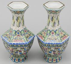 Chinese Hand Painted Porcelain Vases 165 Best Famille Rose Images On Pinterest Chinese Ceramics