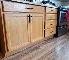 black handles on oak kitchen cabinets black kitchen cabinet handles on oak wood black kitchen