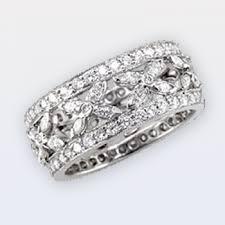 wide wedding bands women s wedding bands norman jewelers