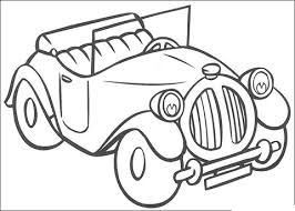 noddy u0027s car coloring page free printable coloring pages