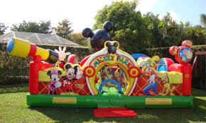mickey mouse clubhouse bounce house mickey mouse moonwalk rentals in the atlanta ga area