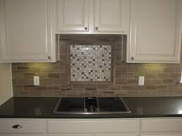 decorating exciting gray square tile backsplash ideas with