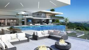 Home Design 3d Plan Home Design 3d With Balconies Decor Waplag Modern House Mansion