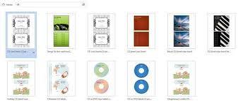 Avery 5871 Business Cards Create Your Own Cd And Dvd Labels Using Free Ms Word Templates