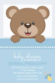 bear baby shower invitations u2013 frenchkitten net