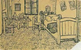 gogh chambre arles chambre de vincent à arles encre de vincent gogh 1853 1890