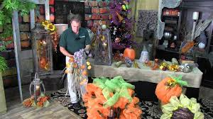 How To Decorate Your Home For Fall How To Decorate A Fall Lantern For Your Home Youtube