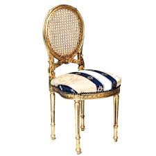 Ivory Accent Chair Gold Cane Blue Ivory Seat Accent Chair U2013 Peter Corvallis Productions