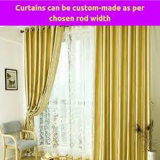 Sheer Gold Curtains Blackout Gold Fabric Bedroom Door Net Curtain Design Drape Sheer