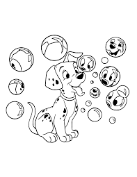coloring page 102 dalmatians coloring pages 0